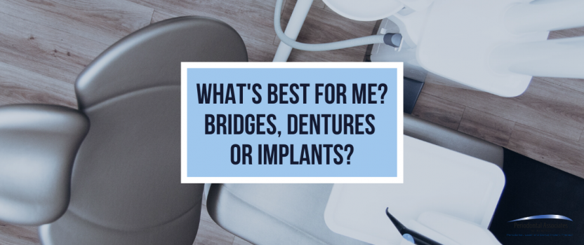 What's Best for Me? Bridges, Dentures or Implants?