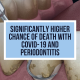 Significantly Higher Chance of Death With COVID-19 and Periodontitis