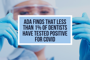 ADA Finds That Less Than 1% of Dentists Have Tested Positive for COVID